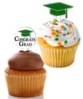 Graduation Cupcake Picks