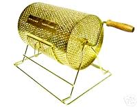 Gold Metal Raffle Drums