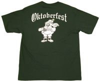 Oktoberfest T-Shirt - Dark Green