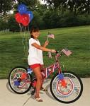 Patriotic Bike Decorating Kit