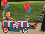 Patriotic Wagon Decorating Kit