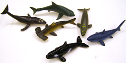 Rubber Ocean Fish - Assorted Styles