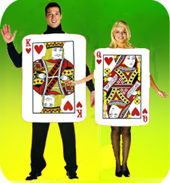 Playing Card Couple