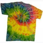 Neon Multicolor Tie Dye shirt