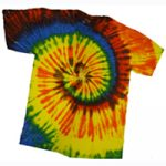 Multi Color Tie Dye Shirt Adult