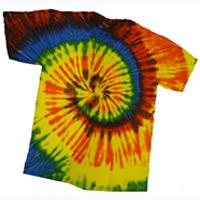 Multi Color Tie Dye Shirt Adult