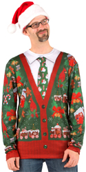 Faux Ugly Christmas Sweater T-Shirt