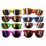 Flip Up Solid Color Sunglasses
