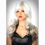 Allure wig - gray and black