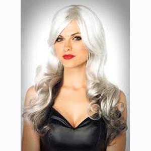 Allure wig - gray and black