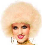 70's Wig Afro Blonde Dancing Queen