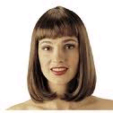 Peggy Sue Costume Wig - Brown