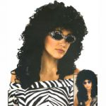 80s Wild Curl Wig