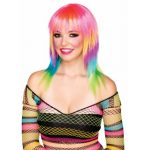 Candy Striped Wig