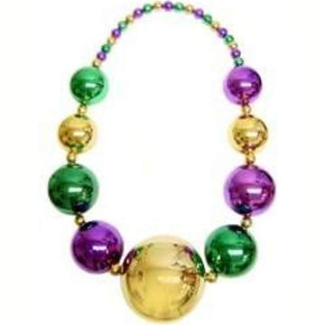 Mega Size Mardi Gras Necklace