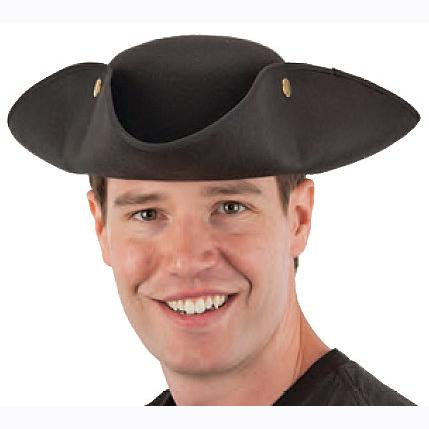 BLACK_TRI_CORNE_HAT