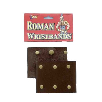 Roman Wristbands Vinyl
