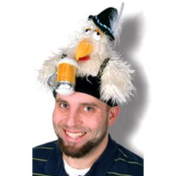 Oktoberfest Chicken Hat