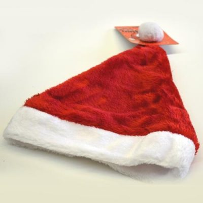 Plush Santa Hat - SALE PRICE