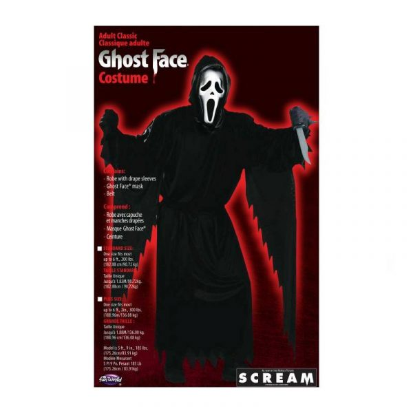 Ghost Face® Costume and Mask from SCREAM