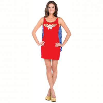 Wonder Woman Tank Dress