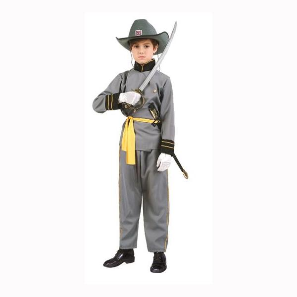 Child Size Confederate Office Costume