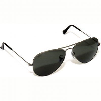 Dark Lens Aviator Sunglasses