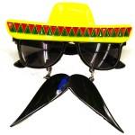 Fiesta Sunglasses With Moustache
