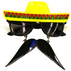 Fiesta Sunglasses With Moustache