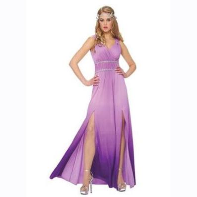 Lilac goddess dress