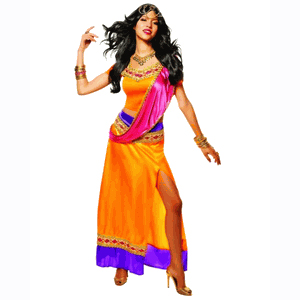 Bollywood goddess costume