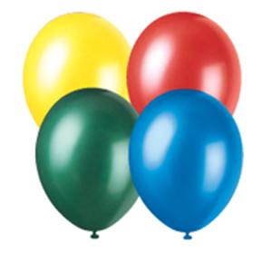 """9"""" Latex Balloons - 1 dozen"""