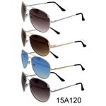Shaded Lens Aviator Sunglasses