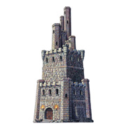 "Castle Tower Cutout - 4"" Tall"