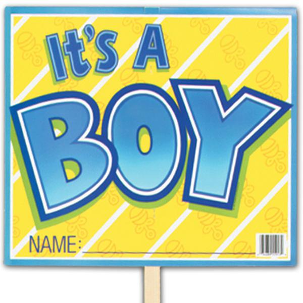 Its A Boy Yard Sign