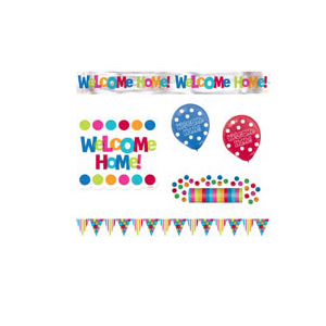 Welcome Home Decor & Party Supplies