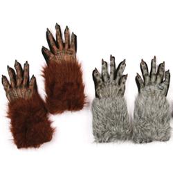 Furry Werewolf Gloves
