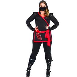 Ninja Assassin Plus Size Costume