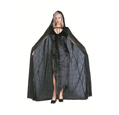 Black Spiderweb Cape