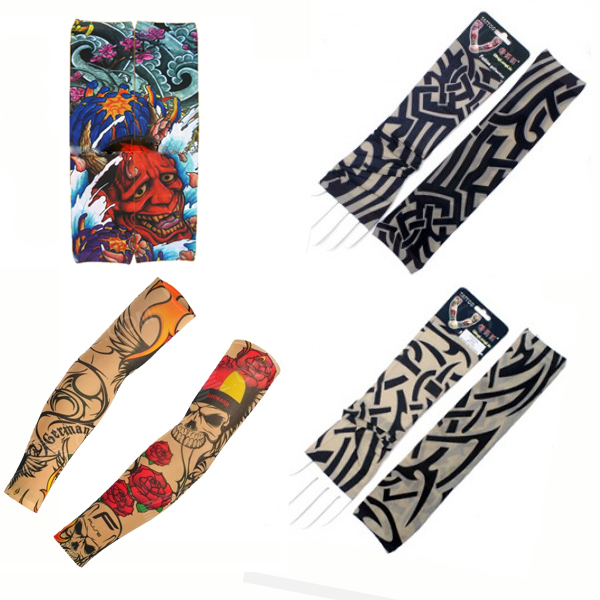 Printed and Tribal Tattoo Sleeves