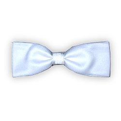 White Formal Adjustable Bow Tie