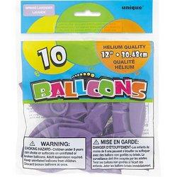 "Luscious Lavender 12"" Latex Balloons"