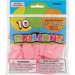 """Petal Pink 12"""" Latex Balloons"""