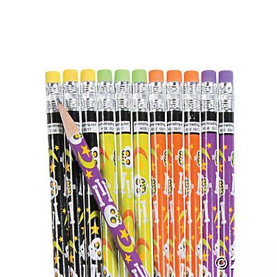 Cute Skeleton Pencils