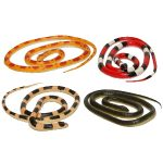 36 inch solid rubber coiled snake