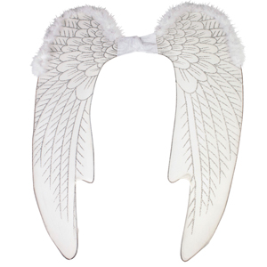 Glittered Nylon Angel Wings