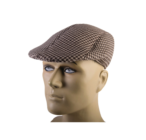 Buy Fabric Houndstooth Roaring 20s Cap Taxi Driver Style - Cappel s ... 57a924b2dc5