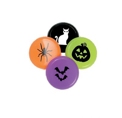 Halloween flying discs