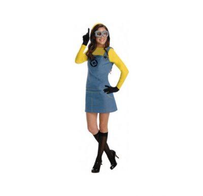 female minion adult halloween costume