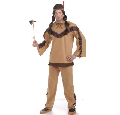 Native American Indian Brave Costume